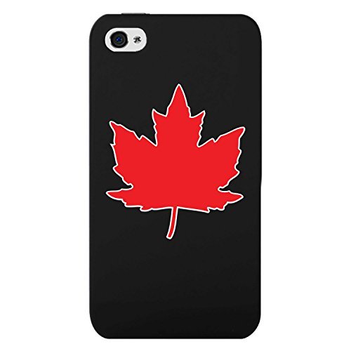 Cellet Apple iPhone 4& 4S Handy Fall, Schwarz Proguard Fall mit kanadischer Ahorn für Apple iPhone 4& 4S (Handy-fälle-hello Kitty)