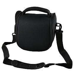 Black Camera Shoulder Carry Bag Case For For Canon Sx540 Hs Sx420 Is G3x Sh50 Hs Sh40 Hs Sx500 Is Sx40 Hs Sx50 Hs Bridge