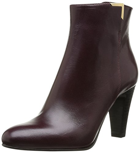 Jonak 277 Dux Cu H4, Bottines femme Rouge (Cuir Bordeaux)