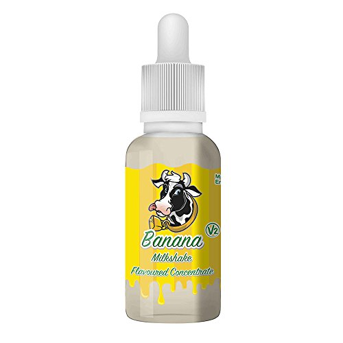 Psycho Bunny Aroma 30ml - Banana Milkshake V2 Bananen Milchshake Premium Konzentrat für E-Liquid Nikotinfrei
