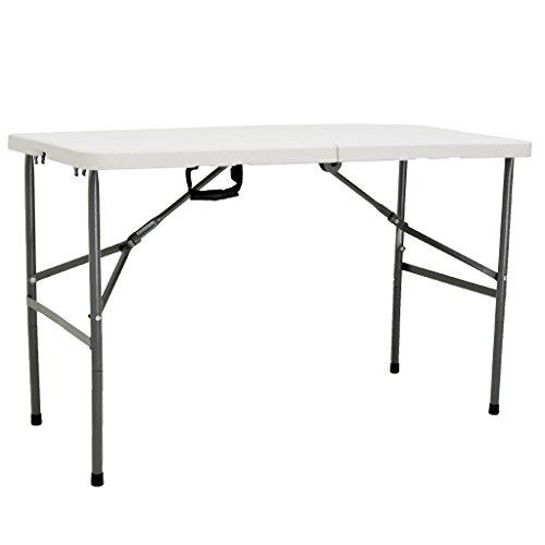 Oypla 1,2m faltender Hochleistungsbock-Partei-Garten-Tabelle im Freien (6' Tabelle)