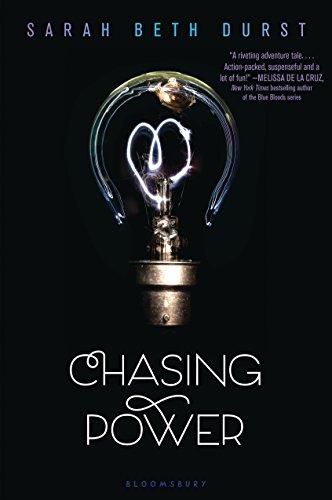 Buchseite und Rezensionen zu 'Chasing Power' von Sarah Beth Durst