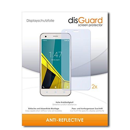 disGuard® Bildschirmschutzfolie [Anti-Reflex] kompatibel mit Vodafone Smart Ultra 6 [2 Stück] Entspiegelnd, Matt, Antireflektierend, Extrem Kratzfest, Anti-Fingerabdruck - Panzerglas Folie, Schutzfolie