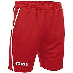 Joma Game - Pantalones cortos unisex, color rojo, talla M