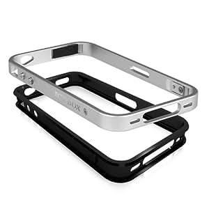 RaidSonic IB-I041 Schutzrahmen für Apple iPhone 4/4S silber