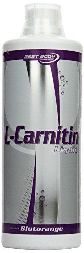 Best Body Nutrition L-Carnitin Liquid mit Carnipure Blutorangen, 1er Pack (1 x 1000 ml)