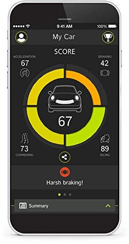 TomTom-Curfer-Dashboard-zur-Fahrtenbewertung-Erweiterte-Fahrzeugdaten-Fahrzeugsuche-Fahrtenanalyse-Auszeichnungen-fr-Ihren-Fahrstil-schwarz