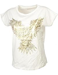 Best Mountain - TS MC Ecru Imprime Lady - Tee Shirt Manches Courtes ab2028a474e
