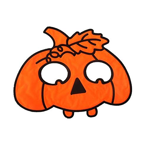 Vampir Katze Menschen Kostüm Für - XUDSJ Halloween Kreative Maske Erwachsene Und Kinder Kostümpartei Dekoration Festival Tier Maske XUDSJ (Color : Orange, Size : One size)
