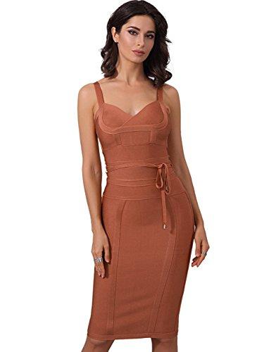 Femme Fringe (Adyce bandage kleid err?ten abend nachtw?sche f¡§1r clubwear eleganten luxus cocktail, hochzeitskleid.)