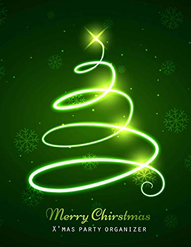 X'mas Organizer: Christmas Planner Kit, Gift planner, Party Planner Merry Organizer, Merry Christmas Daily, Merry Christmas Notebook, Merry Xmas Journal, Christmas Countdown, Christmas Shopping