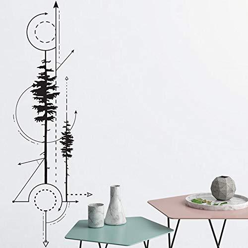 Vinyl wandaufkleber für kinderzimmer Technische Zeichnung Abnehmbare Wandtattoo Schlafzimmer wohnzimmer Wand-dekor 42 * 125 cm