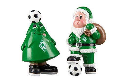 Werder Bremen Weihnachtsfiguren 2 er Set
