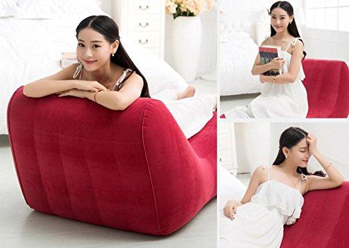 ASZLL Faule Menschen kreative Freizeitspaß Stühle plus s-Siesta Sofastühle, aufblasbare Sofa, aufblasbares Sofa Bett - 5