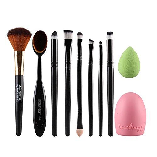 ihrkleid-maquillage-cosmetic-blush-poudre-pour-le-visage-brosse-a-dents-curve-foundation-brush-set-n