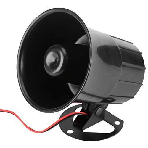 heliltd DC12V 15W Wired Alarm Warnung Sound Horn für Home Security System Einfache Installation