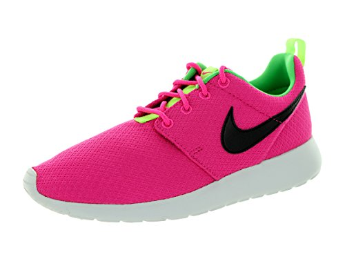 Nike Roshe Run Pink Youths Trainers Rose