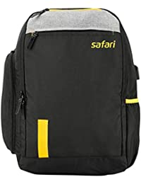 SAFARI 27 Ltrs Black Casual Backpack (OZONE19CBBLK)