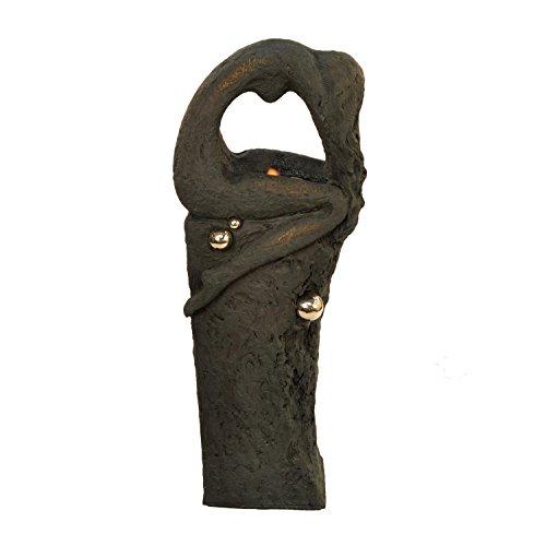 Solstice Skulpturen XST/504Victoria Wasserspiel, Granit Stein Effekt, 42x 21x 119cm