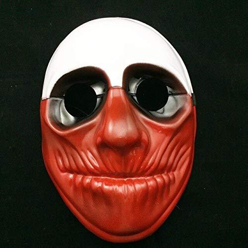 Maske Joker Zahltag2 Party Masken Überfall Dallas Wolf Ketten Hoxton Party Cosplay Halloween Horror Maskerade Maske, 3