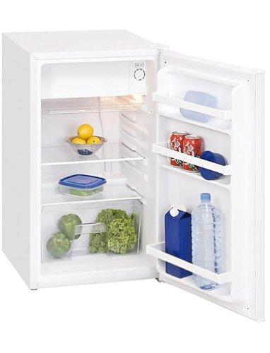 Arbeitsplatte Tiefe Kühlschrank (GGV KS102 Kühlschrank / mit Arbeitsplatte / A+ / 84 cm Höhe / 124.1 kWh/Jahr / 88 L Kühlteil / 12 L Gefrierteil / weiß)