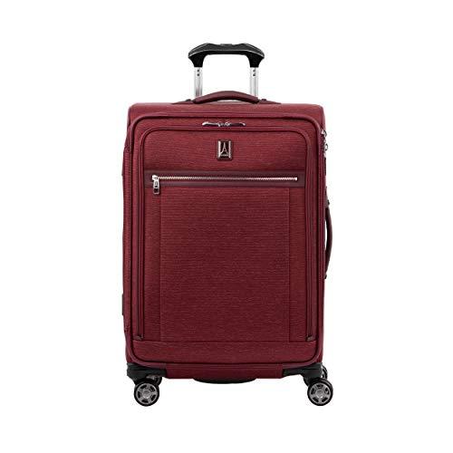 Travelpro Platinum Elite Großer Weichgepäck Spinner Koffer 4 Rollen 71x47x30 cm Erweiterbar Langlebig mit TSA Schloss 97 Liter Magnet Schwenkräder Nylon Reisegepäck 10 Jahre Garantie L