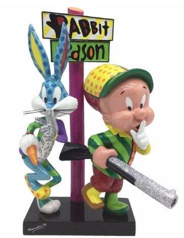 looney-tunes-britto-elmer-fudd-bugs-bunny-by-enesco