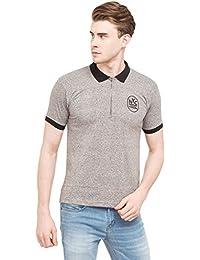 Globus Polo Neck T-shirt - Grey