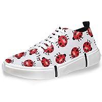 LUPINZ Ladybird Patterns Skateboard Sneaker Men