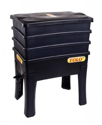 Preisvergleich Produktbild TOLO Komposter aus Kunststoff / Maße: 57,5 x 42,2 x 29,5 cm / Gewicht: 7,3 kg / für Kinder ab 5 Jahren geeignet