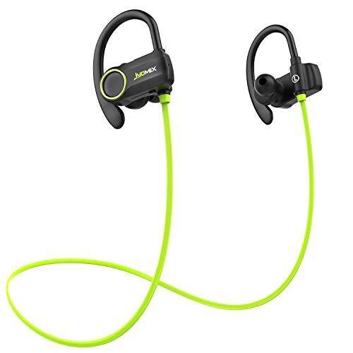 Cuffie Bluetooth, auricolari wireless senza fili con microfono, auricolari sportivi resistenti al sudore, auricolare con gancio auricolare morbido, CVC 6.0 cancellazione del rumore, suono stereo HD