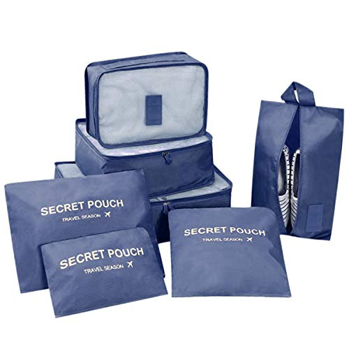 DoGeek- 7 1 Set Organizador Equipaje Viaje