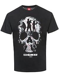The Walking Dead Heroes Skull T-shirt noir