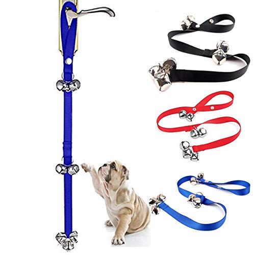 7-Extra Large Laut 1.4 Türklingeln Premium Qualität Training Töpfchen Great Dog Bells Verstellbare Türklingel Dog Bells für Töpfchen-Training (Color : Blau)