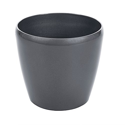 ruecab-pot-de-flor-redondo-con-reserva-de-agua-diametro-28-cm-3465200022004-gris-antracita-28-x-28-x