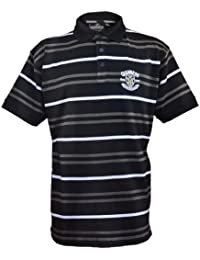 Guinness Official Merchandise Golf Striped Polo Shirt Men's T-Shirt