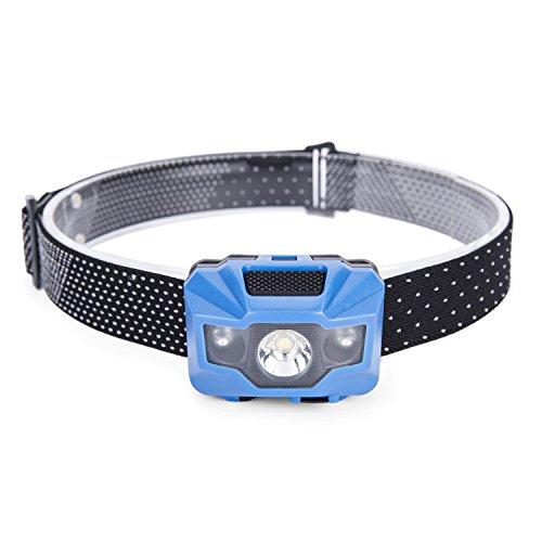 Preisvergleich Produktbild Huntvp Led Kopflampe Wiederaufladbare Scheinwerfer 4 Modi mit roten Licht USB-Kabel enthalten Super Helle Wasserdichte Kopffackel Leichte Bequeme Kopfleuchten für Laufen Wandern Camping Angeln