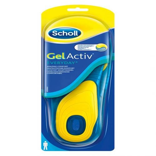SCHOLL GelActiv Einlegesohlen Everyday men 2 St