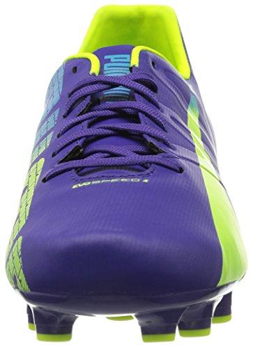 Puma - evoSPEED 4.3 FG, Scarpe da calcio da unisex adulto Viola (Violet (Prismviolet/Yellow/Blue))