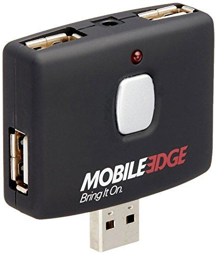Mobile Edge 4Port USB Hub-Push Button-Anschluss (meah02) Edge Laptop Ram