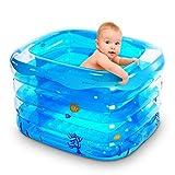 Vasca da bagno, piscine Ammollo Terme addensare bambino piscina Infant bambino grandi vasche termali famiglia gonfiabile secchio per bambini per bambini) -, 143 centimetri idromassaggio