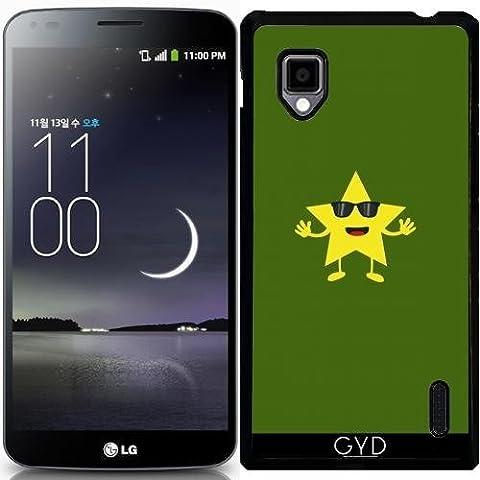Hülle für LG Optimus G (E975) - Stern Mit Sonnenbrille by ilovecotton