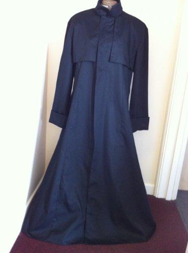Nuovo design con prete stilizzato, colore: nero, taglia XS
