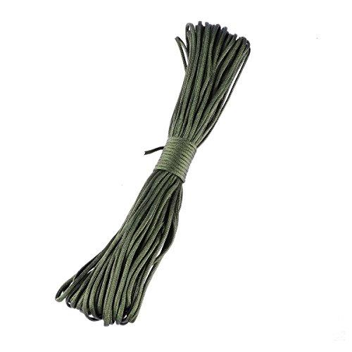 Vosarea Paracord Survival Paracord Sept Cœurs Parapluie Corde Crafting Kit Nylon Militaire Parachute Cord (31 Mètres, Vert Olive)