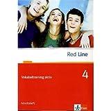 Red Line. Unterrichtswerk für Realschulen / Vokabeltraining aktiv 4