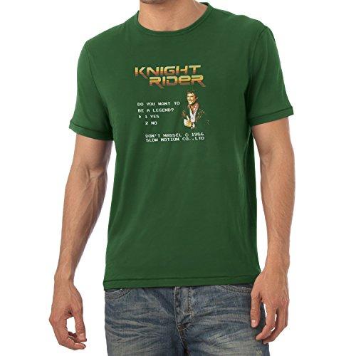 TEXLAB - Do you want to be a Legend - Herren T-Shirt Flaschengrün