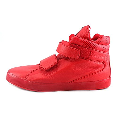 Puma Apex L Leder BasketballSchuh High Risk Red