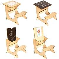 Preisvergleich für Little Helper ASI01-1 - 4-in-1 Wooden ArtStation Infant Desk, Blackboard und Reversible Easel, 24m+