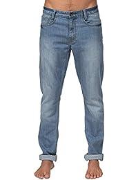 Pantalon Billabong Slim Outsider Denim - Vintage Blue-Bleu