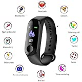Meya Happy Fitness Bands Smart Band Watch with Heart Rate Monitor
